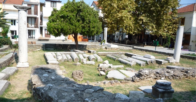 24 - Ancient ruins in the City Center